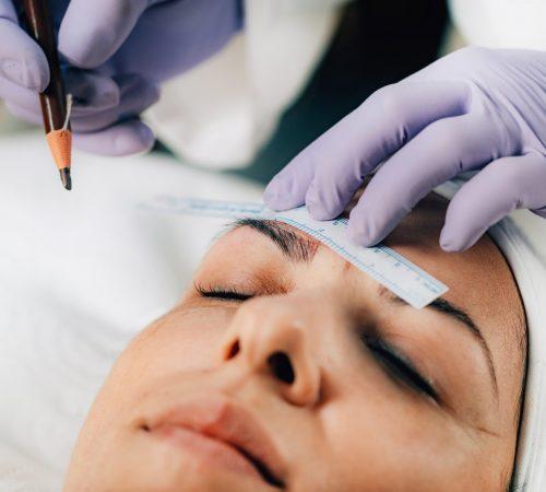 Microblading Eyebrows, Semi-permanent Makeup Procedure